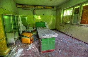 Dissecting-room by mjagiellicz