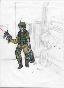 Tretchkan Internal Affairs Special Forces by Bellumes