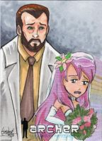 Dr. Krieger and his Girlfriend by skardash