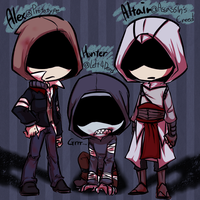 Hoodies (coloured) by cooga01