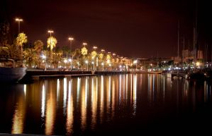 Barcelona's nights by LitalPerri