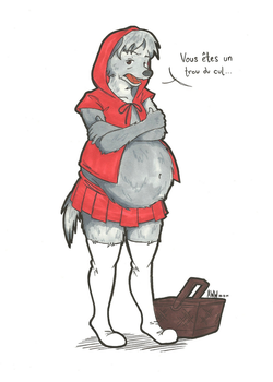 Dinner Bell - Red Riding Anders by AniWhichWay