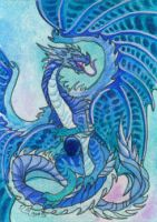 ACEO Dragon 36 by rachaelm5