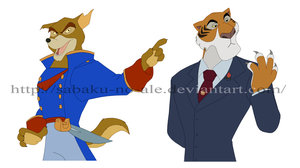 TaleSpin: My fav characters by The-PirateQueen