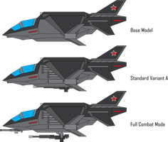 *RETCONNED* KF-95M Paladin II Strike Fighter by Target21