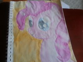 Pinkie Pie Watercolor Portrait by SoupInsanity