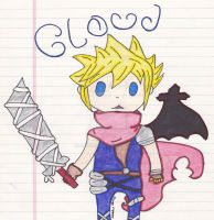 Chibi Cloud by x-chaoticdawn-x