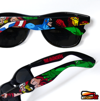 The Avengers custom Wayfarer style sunglasses by Ketchupize