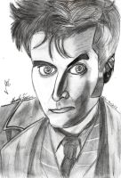 David Tennant by hatoola13