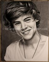 Harry Styles Charcoal by ashleymenard122