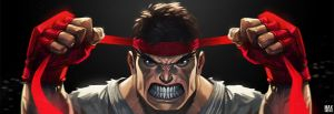 Ryu Getting Ready by MaxGrecke