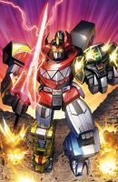Powerangers Megazord by Dan-the-artguy