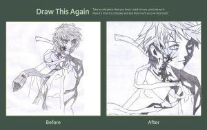 Draw This Again Contest: Aono Tsukune by The-Avaricious