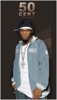 50 cent Vector by kevin00