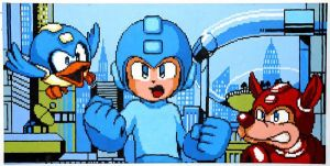 Mega Man 9 Intro by Squarepainter
