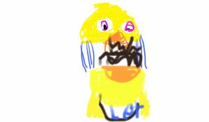 withered chica by goldenfreddyart