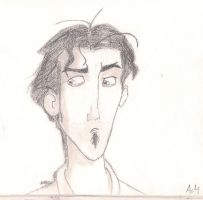 Skeptical Tulio by MeevieRae