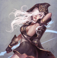 Ashe by CosmicSpectrumm