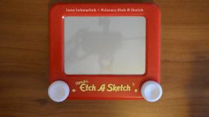 USA Etch A Sketch - making of by pikajane