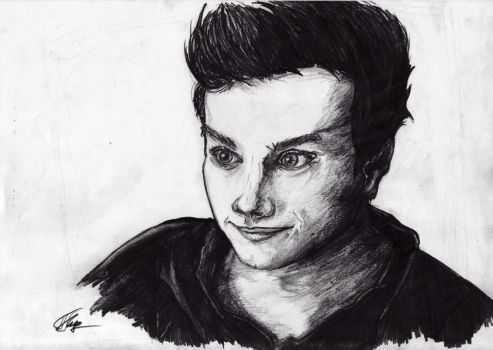 Chris Colfer by kutsunyan