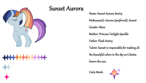 Sunset Aurora Ref by Le-Poofe