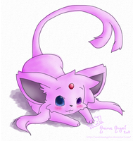 Never Enough Espeon by Espyfluff