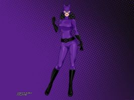 Catwoman (Purple Suit) by Deviern