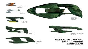 Romulan Capital Ship Classes 2266-2379 by VSFX