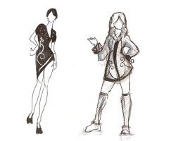 fashion design stuff by vincentwolf