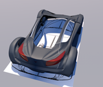 Sport car concept W i P ( part six) by Artsoni3D