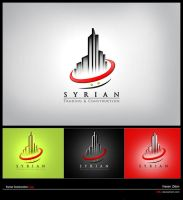 Syrian Construction Logo by i88z