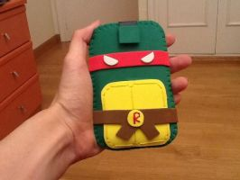 Ninja Turtle Mobile Case by anapeig