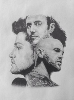 The Script #3 Drawing by Amy221B