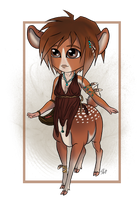 Lil' Deer Centaur [Closed] by ResidualAdopts