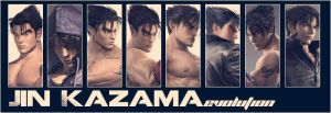 Jin Kazama Evolution 2.0 by KingJino