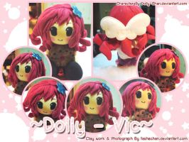 Clay Commission - Dolly-Vic by TashaChan