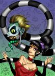 Beetlejuice and Lydia by ZombieCherry13