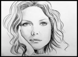 Michelle Pfeiffer by annakoutsidou