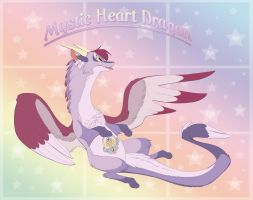 Mystic Heart Dragon by ThisCrispyKat