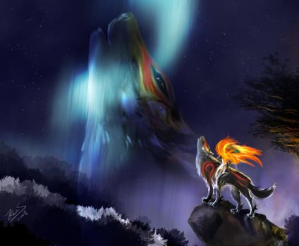 Okami pics favourites by wolfhunter17 on deviantart for Form 2159