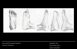 Study of Foot by Vinnie14