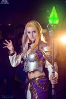 World of Warcraft - Lady Jaina Proudmoore by ver1sa