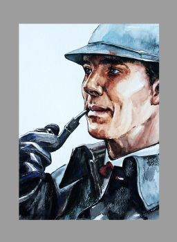Sherlock by ElenaShved