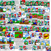 super mario bros page 18 by Nintendrawer