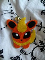 bell plush: flareon by lulukohime