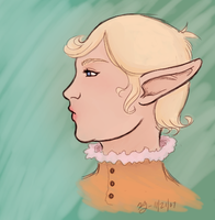 Some chubby elf chick by KellyDawn