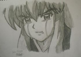 Inuyasha's Tears by MarinaRebina