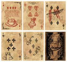 Alice in Wonderland Card Deck - Part 2 by Karla-Chan