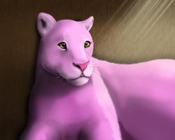 Pink Panther by TheMoonMonkey