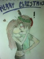 Merry Christmas Herobrine by ShelbyJohnson